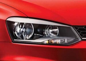 Image 2 - ل Volkswagen VW Polo CrossPolo Vento ممتازة جدا مشرق CCFL عيون الملاك هالو خواتم عدة اكسسوارات السيارات ضوء النهار