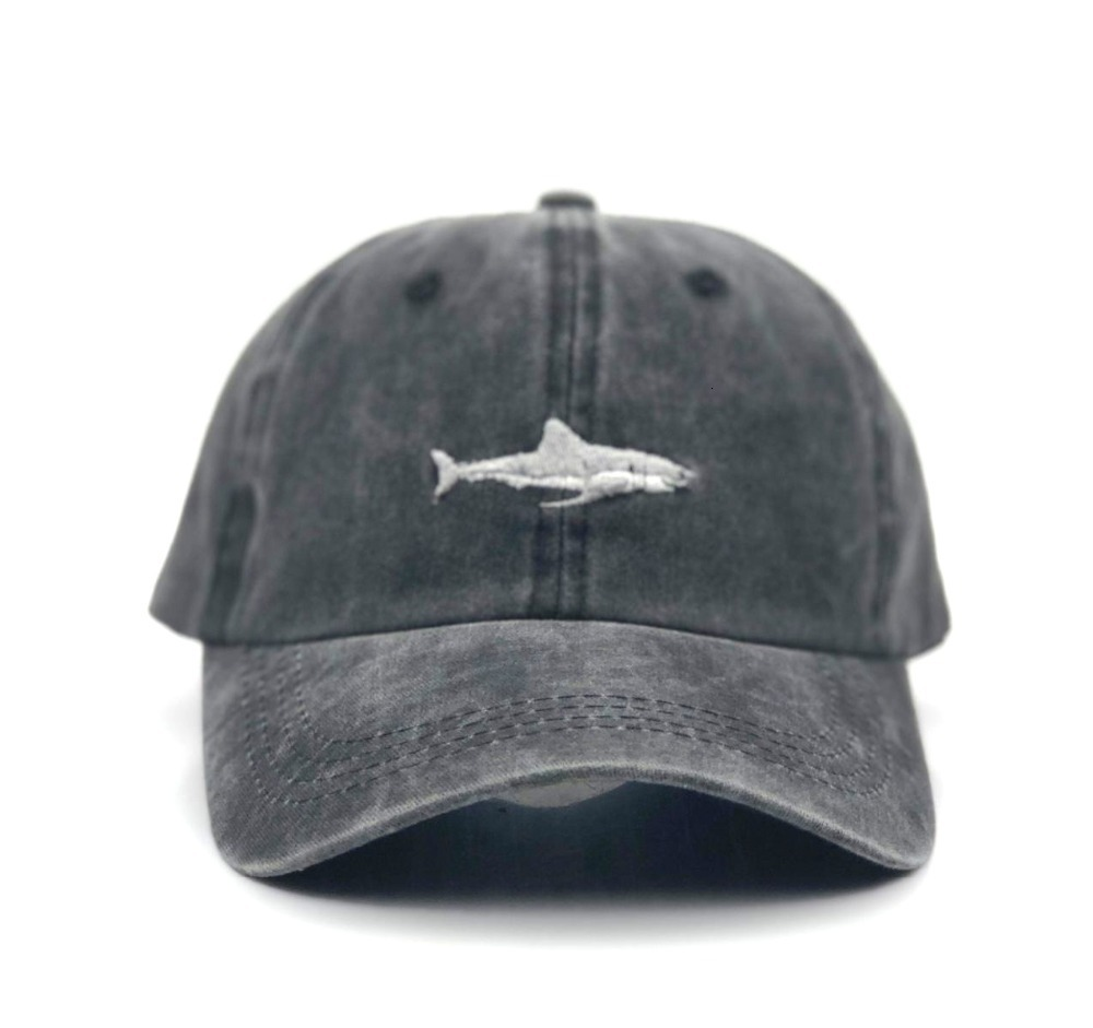 H95f1c2817b4e421a92996e6a37c770c5D - which in shower stitched shark snapback man cap baseball cap hip hop embroidery curved strapback dad hat summer fish sun hat cap