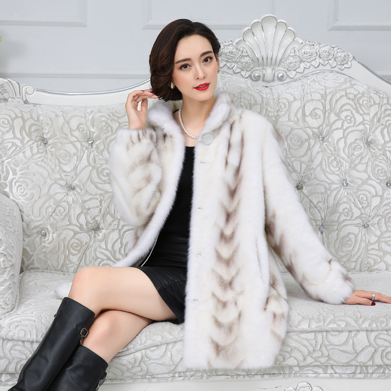 Fur Quality Real Mink Superior Coat 2020 Winter Women China Full Sleeve Thick Warm Long Genuine Natural Fur Coats Plus Size 3xl