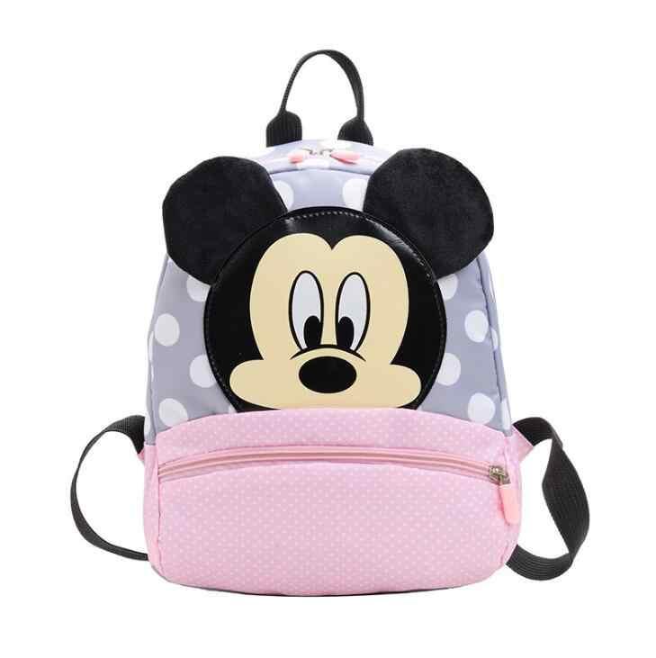 2019 Mickey & Minnie Kinder Rucksäcke kindergarten Schul Kinder Rucksack Kinder Schule Taschen Baby Mädchen Jungen Rucksäcke