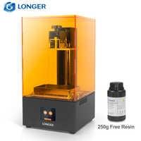LONGER Orange30 3D Drucker Hohe Präzision SLA 3D Drucker mit 2K LCD Screen Parallel UV LED Beleuchtung 405nm Harz Drucker