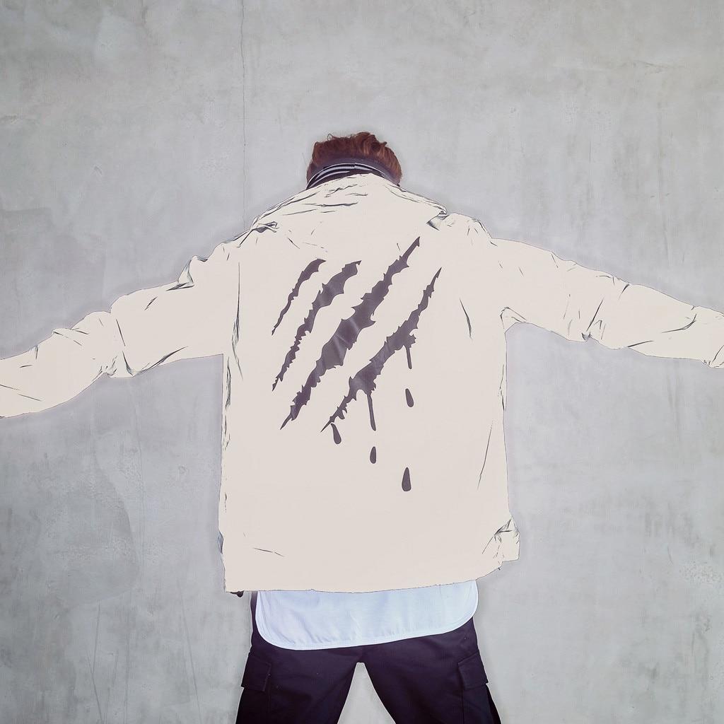 New Fashion Reflective Jacket Men/women Harajuku Windbreaker Jackets Hooded Streetwear Coat Wholesale Free Ship толстовка Z4