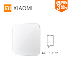 XIAOMI Mi-Scale Digital-Weigh Bluetooth Smart Electronic Hot 2 Led-Screen-App Dual-Mode