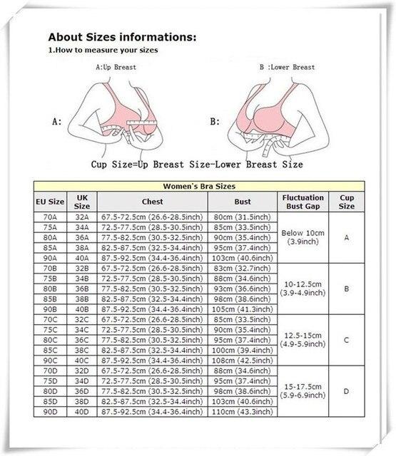 Women sexy bra add 2 size padded p