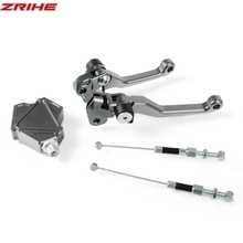 Brake Clutch Levers Motorcycle lever Handlebar Hydraulic clutch Easy Pull Clutch Lever System FOR HUSQVARNA TC/TE250-511 2013 цена и фото