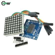 7219 8x8 Matrix LED Dot Matrix modulo catodo comune Kit fai da te MCU modulo Display a LED per Arduino