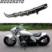 Per Suzuki Boulevard M109R VZR1800 Moto Lungo Cavalletto Esotico Anodizzato Parcheggio Cremagliera Cavalletto Laterale Nero Kick-Espositori E Alzate 2006-2016