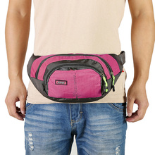 Sport-Waist-Bag with Large-Capacity Waterproof for Men And Women Fanny-Pack Ridding Carrying