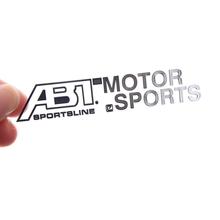 1pc 3d Nickel Legierung Aufkleber für ABT Sportsline Motor Sport Auto Körper Aufkleber für Volkswagen