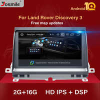 Android 10.0 Car Radio Multimedia Player NAVI For Land Rover Discovery 3 LR3 L319 2004~2009 Stereo GPS Navigation AudioStereo2GB