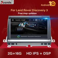 Android 10,0 Car Radio reproductor Multimedia NAVI para Land Rover Discovery 3 LR3 L319 2004 ~ 2009 estéreo navegación GPS AudioStereo2GB