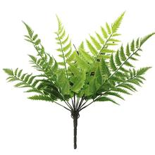 1Pc Non-fading Artificial Plastic Fern realistic Plant Greenery Garden DIY Party Home Wedding Stage Decor vibrantly color