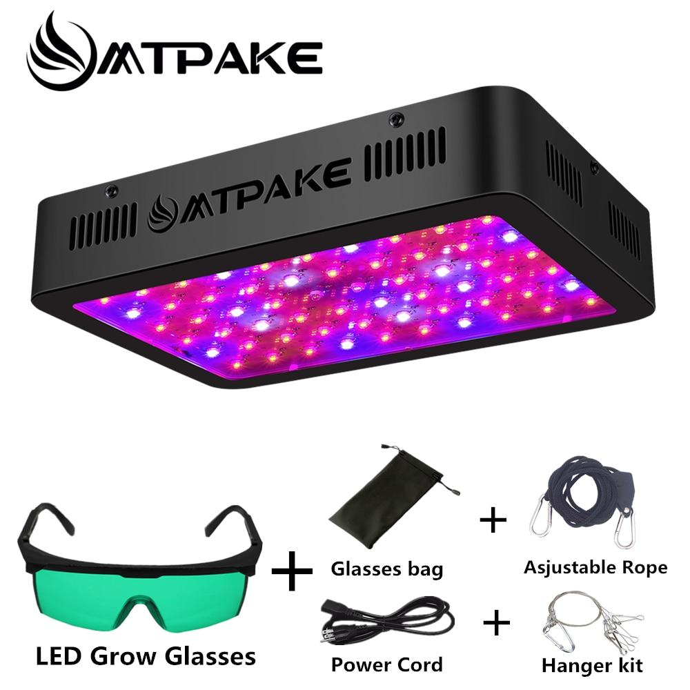 Led Grow Light Volledige Spectrum dubbele chip 300w 600w 800w 1000w 1200w 1500w 2000w voor Indoor Tent Hydrocultuur plant grow Lamp
