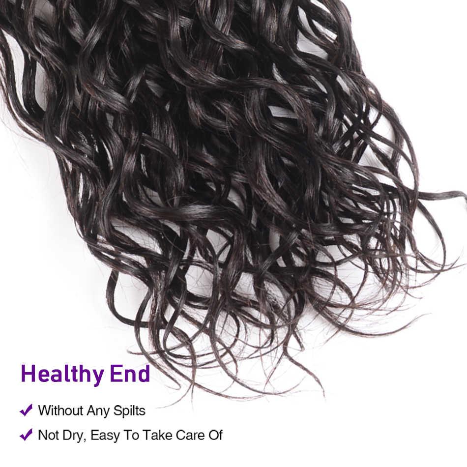 Волосы UNICE Kysiss серия малазийские волнистые 3 пряди необработанные человеческие волосы для наращивания 8-26 дюймов малазийские пряди волос