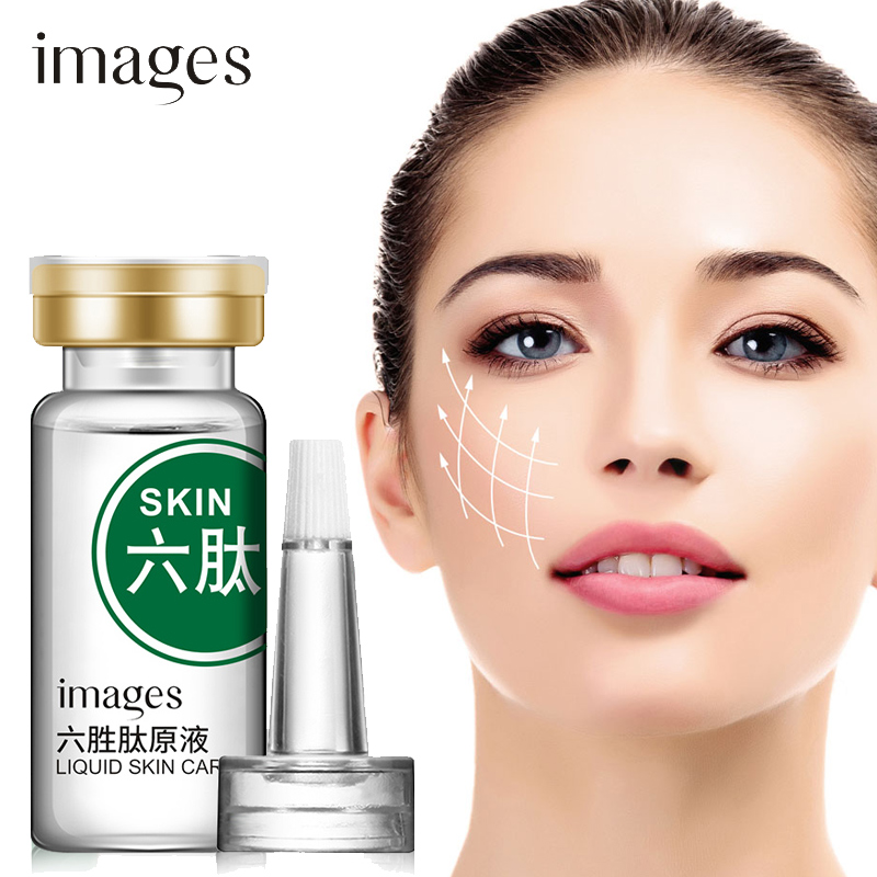 Argireline Face Serum Collagen Anti-wrinkle Anti-aging Essence Hyaluronic Acid Moisturizing Whitening Face Skin Care IMAGES 10ML