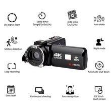Full HD 4K Video Camera Wifi Handheld DV Professional Night Vision Anti Shake Digital Photo Camera Camcorder Flow Stabilizer