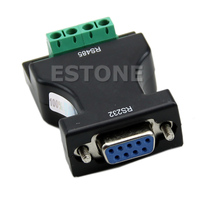 цена на New RS-232 RS232 to RS-485 RS485 Interface Serial Adapter Converter  Drop ship