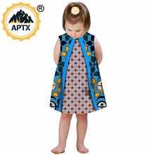 Одежда в африканском стиле для детей; Милые платья девочек;
