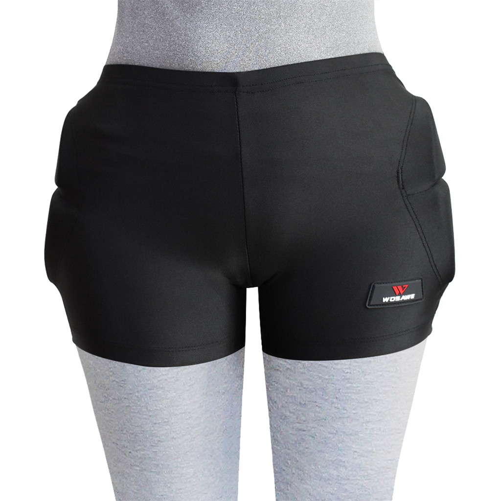 Protective Padded Shorts Pants Cycling Hockey Hip Protector Ski Skating Butt Pads Shorts for Kids Youth Teens Children