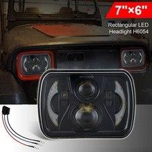 Modyfikacja samochodu reflektory światła do jazdy dziennej samochodu 300 Watt Square 7 Cal (5X7)/(7X6) LED Truck reflektory