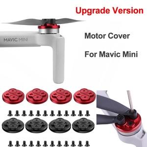 Image 2 - Upgraded Motor Cover for DJI Mavic Mini Protector for Mavic Mini Drone Aluminium Cap Engine Prevent Propeller Scratch Block up