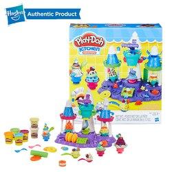 Hasbro Play-Doh кухня творения мороженое замок вечерние Play Doh поставки слаймов Веселая фабрика глина детские игрушки