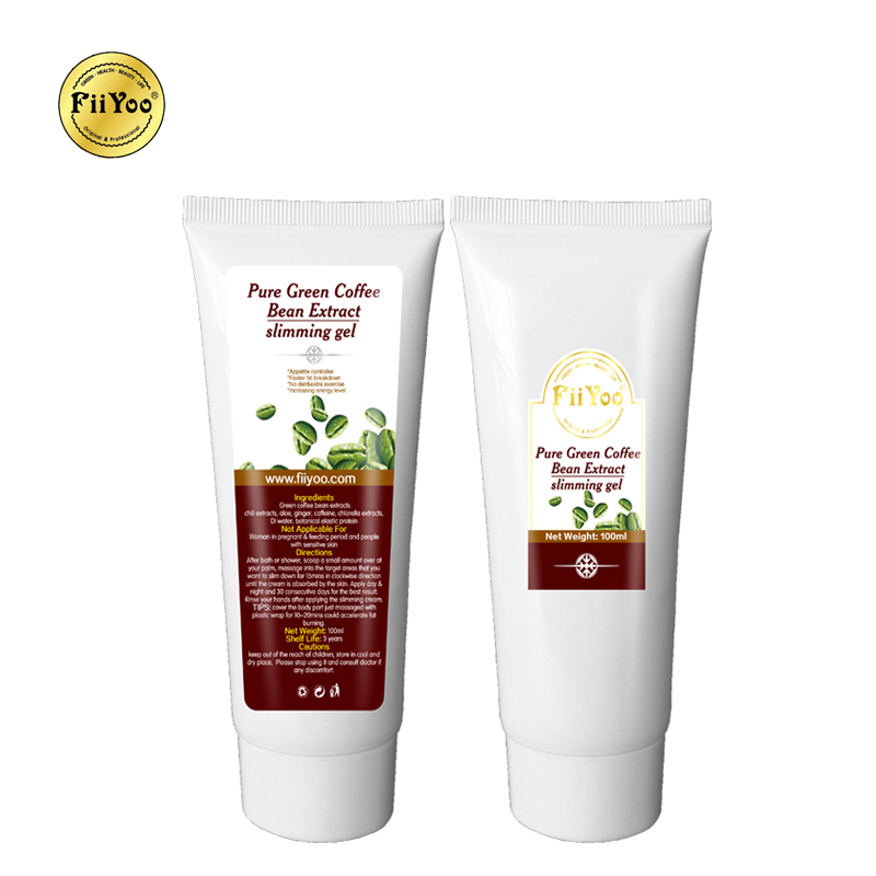 2 Tubes Fiiyoo Green Coffee Bean Extracts Anti Cellulite Creams