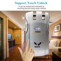Wireless Remote Control Lock Smart Electronic Door Lock WF010 Keyless Entry Door VDX99