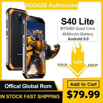 Перейти на Алиэкспресс и купить IP68 DOOGEE S40 Lite четырехъядерный 2 ГБ 16 ГБ Android 9,0 прочный мобильный телефон 5,5 дюймов дисплей 4650 мАч МП отпечаток пальца