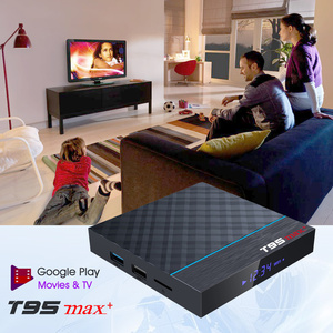 Image 5 - T95Z Plus/T95 MAX PLUS 16/32/64GB Android 7.1/9.0 4K TV BOX Smart TV box 2.4G/5GHz WiFi BT4.0 Set  Box T95 media player