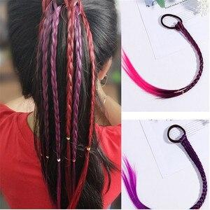 1 Pcs New Style Headband Girls Twist Braid Rope Simple Rubber Band Hair Accessories Kids Wig Rope Hair Braider Tools Head Wear