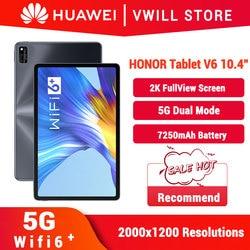 Honor Mediapad V6 10,4 inch 2K экран Honor Tablet PC V6 10,4 ''Kirin 985 Octa Core 5G Двойная модель Wi-Fi 6 +