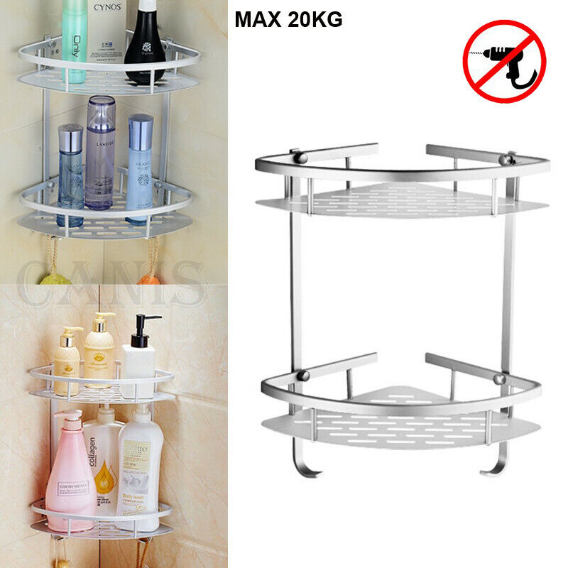 Bathroom Shelf Aluminum Triangular Rack