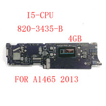 Logic-Board Macbook Air 820-3435-B for 11-I5-Cpu 4GB 8GB A1465 Original