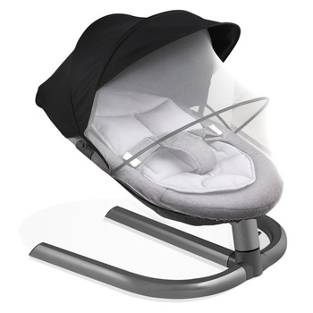 Newborn Baby Rocking Chair Baby Bed Swing Soothing Music Chair Non-electric Manual Swing Shaker Infant Cradle baby rocking chair to sleep baby electric rocking chair cradle chair small rocking bed rocking chair soothing chair coax baby ar