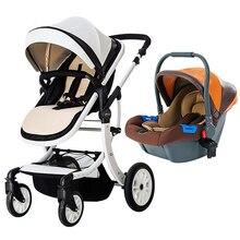 Teknum 2 in 1 High Landscape X Design Baby Stroller baby