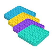 Jouets anti-Stress en Silicone pour adultes et enfants, 1 à 4 pièces, jeu à bulles, Push Fidget, sensoriel, pour soulager le Stress, spécial autisme