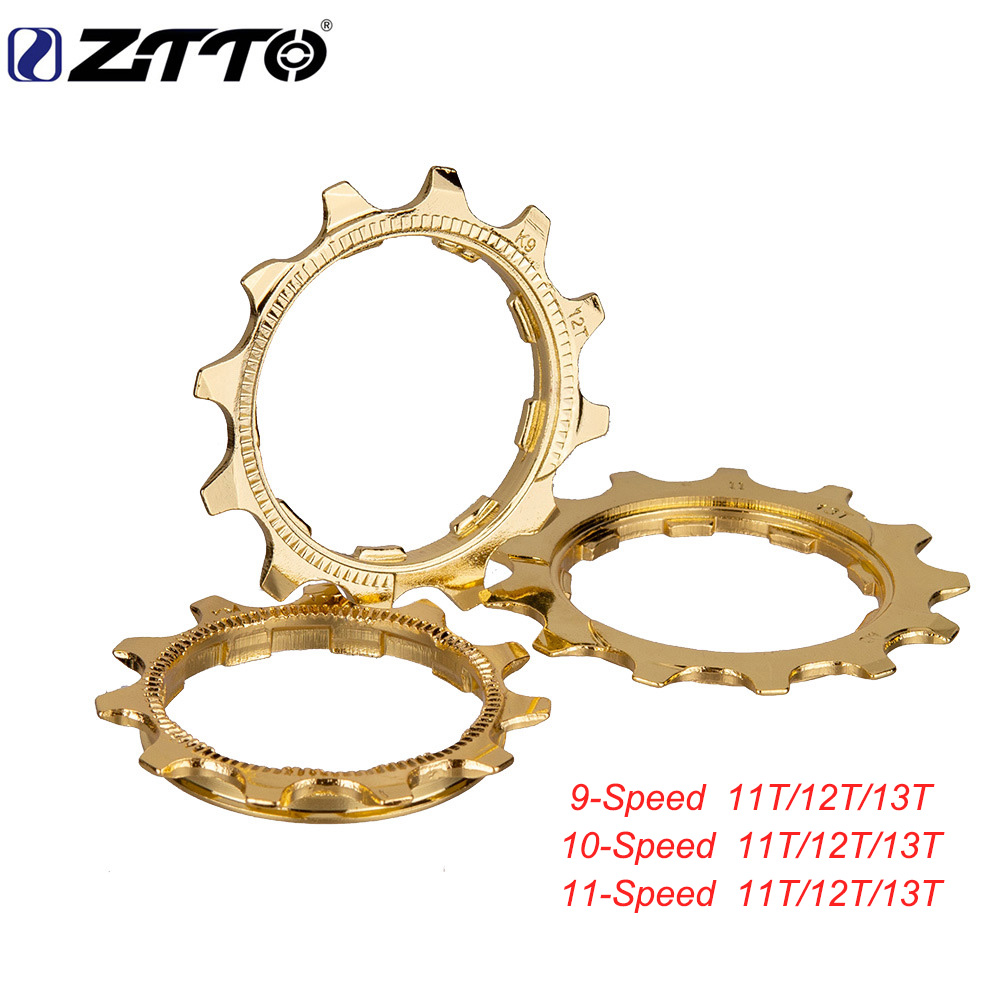 ZTTO 9 speed 10 11 MTB road bicycle flywheel  small tooth repair parts to solve the Cassette sprocket jump chain