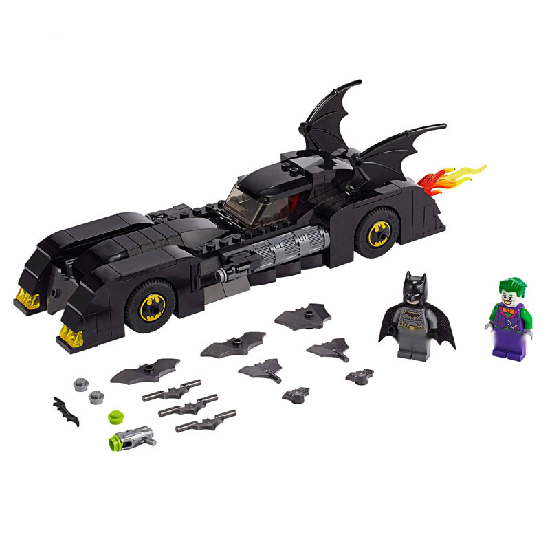 Legoinglyes Super Heroes Series The Batman Pursuit Of The Joker Model Building Blocks Bricks Education Toys Gift