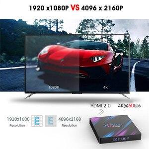 Image 5 - Cho Android 9.0 TV Box H96 Max Rockchip RK3318 RAM 4GB 64GB H.265 4K Tiếng Nói Trợ Lý Cho netflix Youtube Phát Đa Phương Tiện