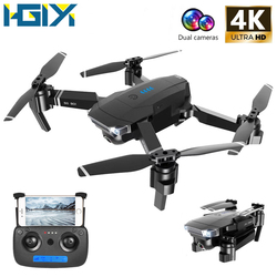 HGIYI SG901 RC Drone 4K 1080P HD Camera Quadcopter Optical Flow WiFi FPV Professional Foldable Helicopter Drones 18 Min VS XS816
