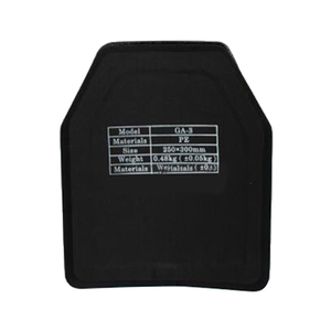 NIJ Level IIIA PE Bulletproof Ballistic Plate Level 3A Stand Alone Ballistic Bulletproof Panel For Body Armor