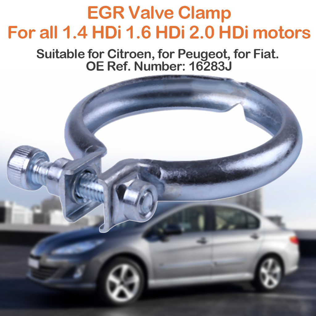 Yous Auto 16283J EGR Valve Clamp Stainless Steel Vannes EGR