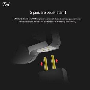 Image 5 - TRN V80 2BA + 2DD الهجين المعادن في الأذن سماعة HIFI DJ Monito تشغيل سماعة أذن تستخدم عند ممارسة الرياضة سدادة الأذن سماعة ل MT1 BA15 TA1 V90 KZ edx