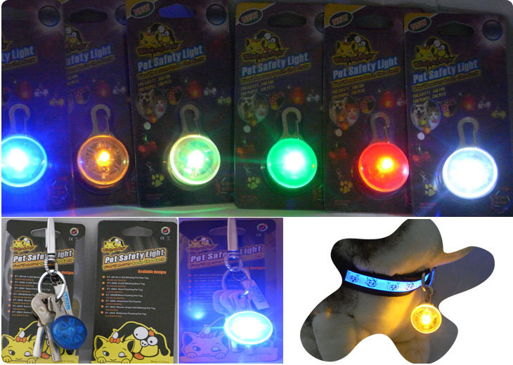 Pet Pendant LED Shining Dog Pendant Pet Tag Hot Selling 8-Color Good Brand