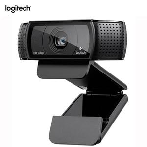 Logitech C920 Pro Webcam HD Smart 1080p web cam Widescreen Skype Video Call Laptop Usb Camera 15MP Web Camera