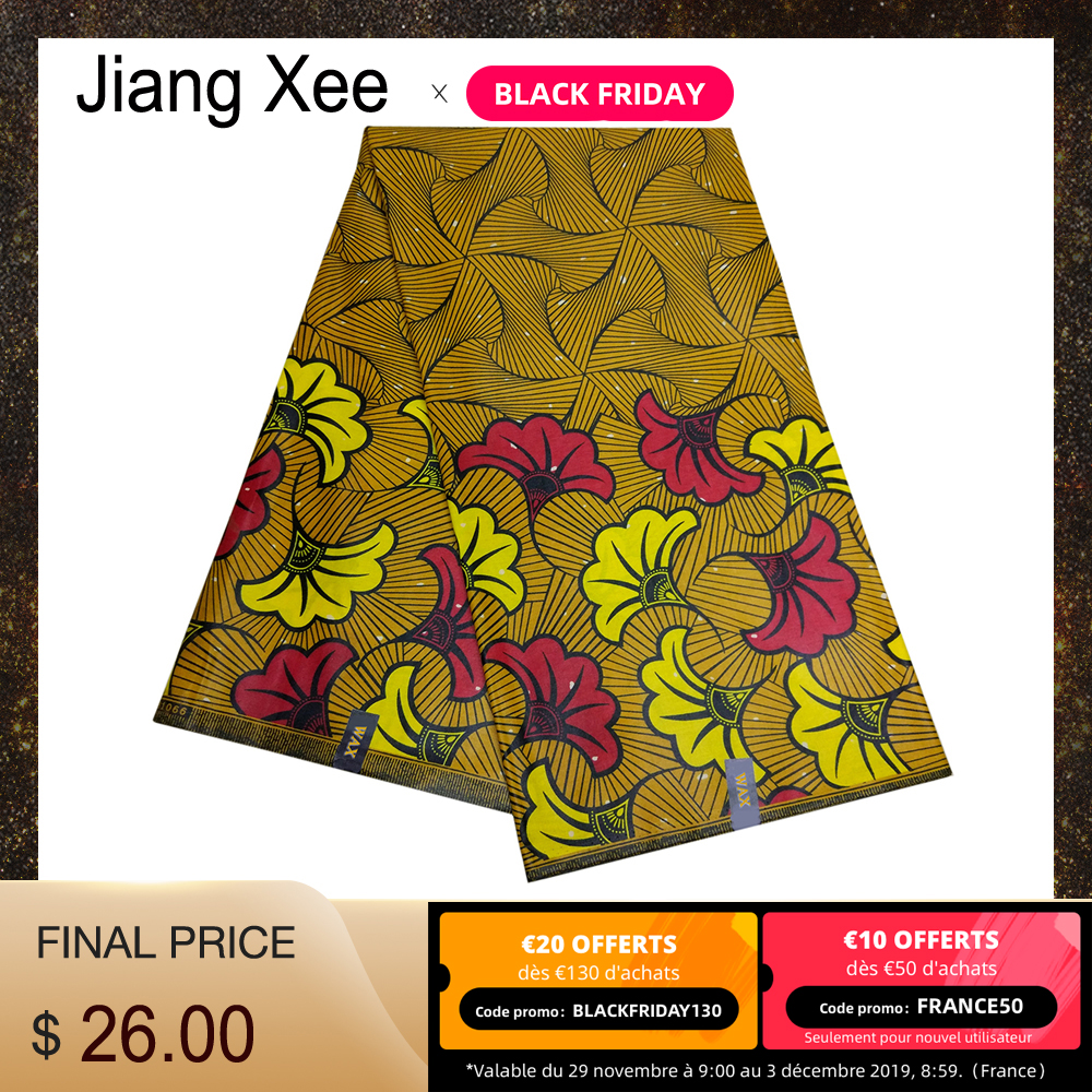 Ankara Veritable Real Dutch Wax African Printed 100% Cotton Nigerian African DIY Wax Fabric