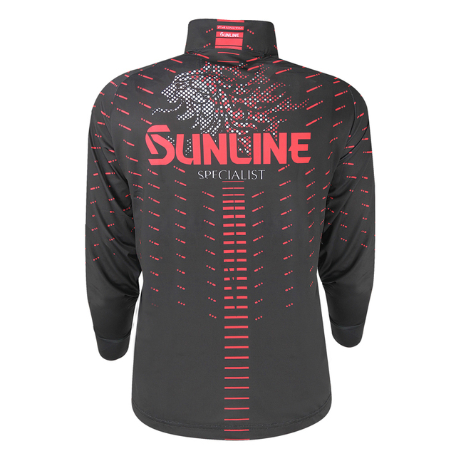 Fishing Clothing Summer Sun Protection T Shirt Quick-Drying Breathable Anti-Mosq