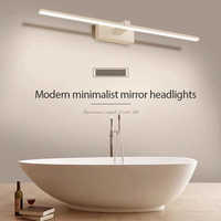 Moderne Led vanité lumières chambre salle de bains toilette miroir armoire lumière 0.4-0.9M créatif Dressing miroir vanité Table miroir lampe