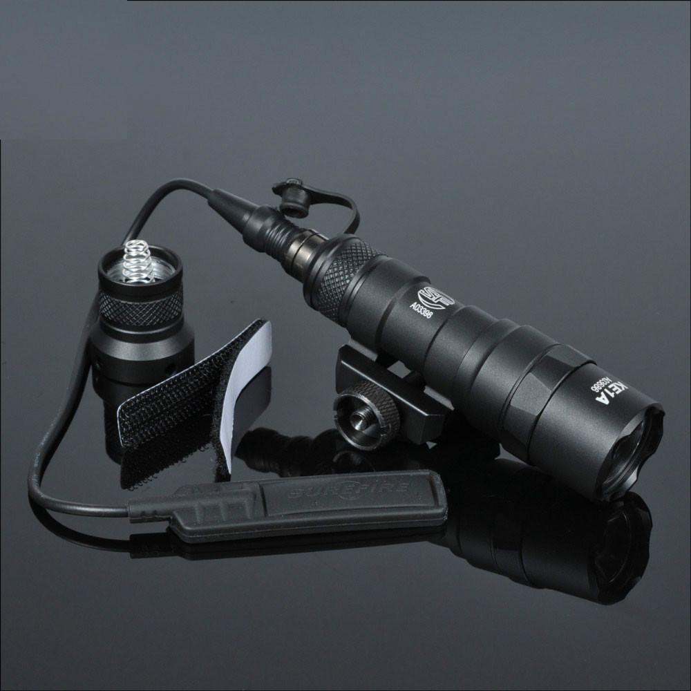 m300 tatico m300b mini arma de luz ao ar livre rifle caca lanterna alta lumen tatico